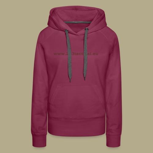.243 Tactical Website - Vrouwen Premium hoodie