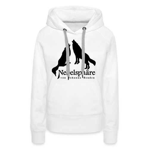 Wölfe Nebelsphäre - Frauen Premium Hoodie