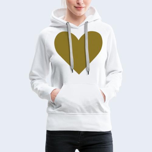 Heart - Vrouwen Premium hoodie