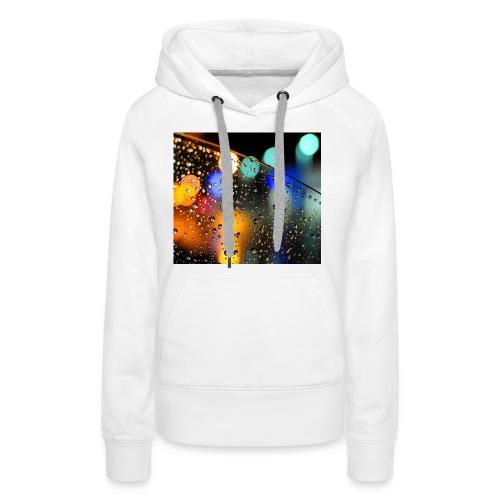 Abstract - Sudadera con capucha premium para mujer