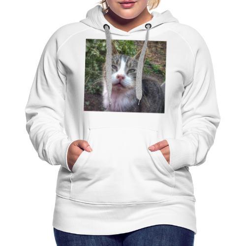Katze Max - Frauen Premium Hoodie