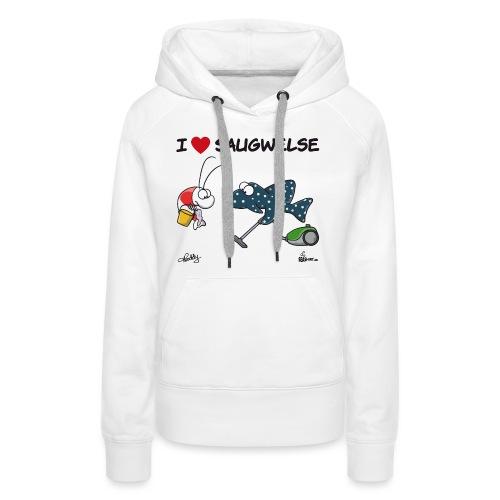 Saugwels - Frauen Premium Hoodie