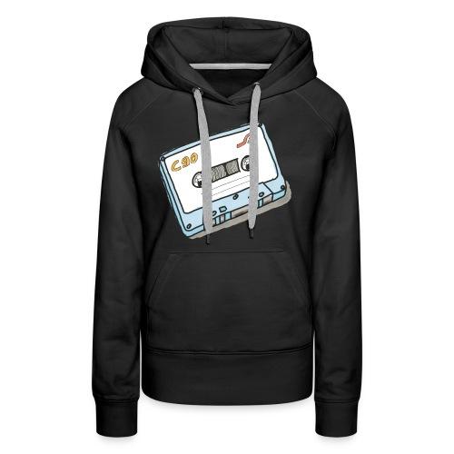 Cassette - Frauen Premium Hoodie
