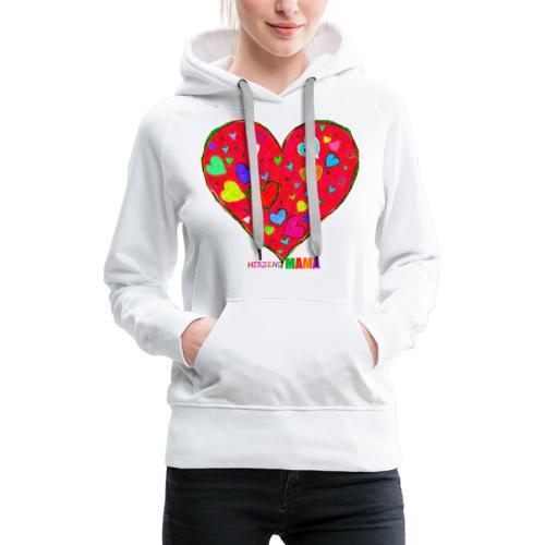 HerzensMama - Frauen Premium Hoodie