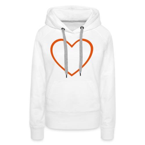 Hjärta 4 - Premiumluvtröja dam