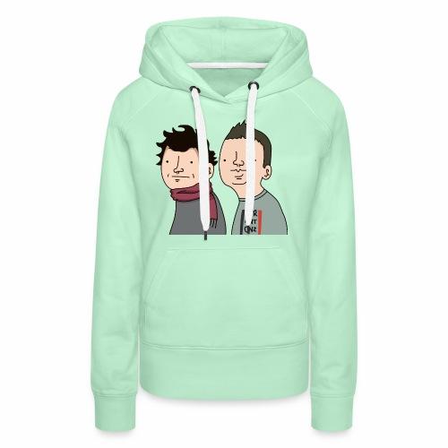 Laink et Terracid Wankuls - Sweat-shirt à capuche Premium pour femmes