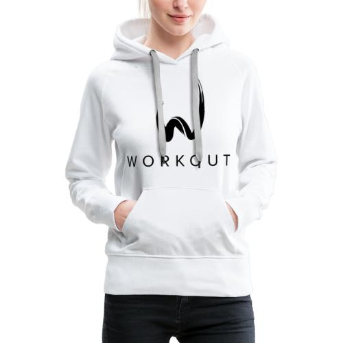 Workout mit Url - Frauen Premium Hoodie