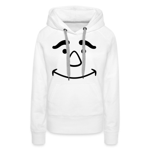 Satisfied Face - Women's Premium Hoodie