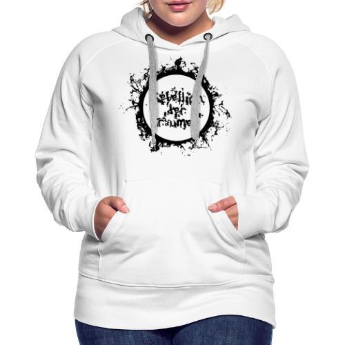 Rebellion der Träumer Logo schwarz - Frauen Premium Hoodie