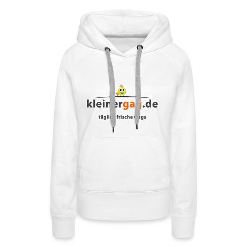 logotransp png - Frauen Premium Hoodie