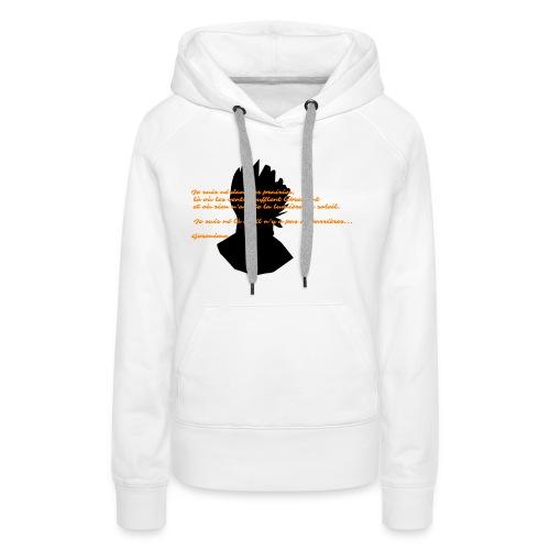 geronimo 2 - Sweat-shirt à capuche Premium pour femmes