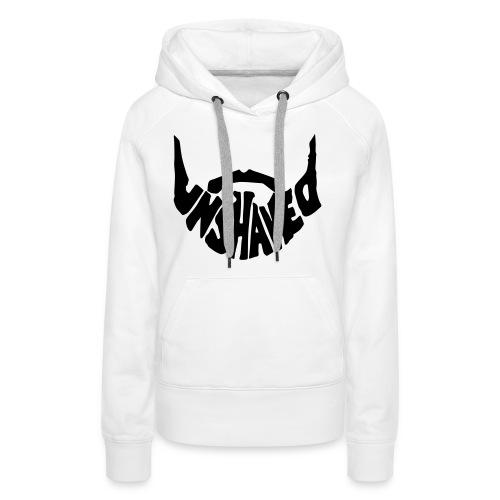 unshaved_logo - Frauen Premium Hoodie