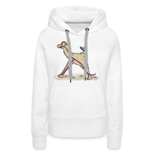 Lambda-Camel T-Shirt Männer - Frauen Premium Hoodie