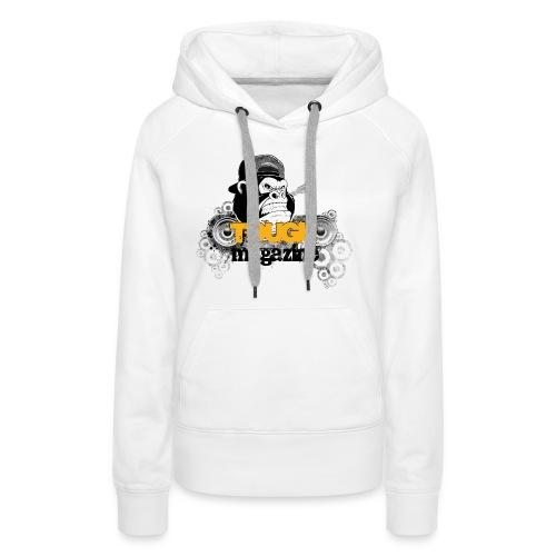 Tough Magazine - Logo - Gorilla - Frauen Premium Hoodie