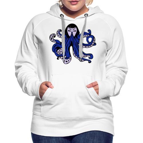 Octopus Face - Women's Premium Hoodie