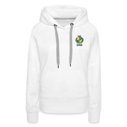 Royaume de Nova Francia - Sweat-shirt à capuche Premium pour femmes