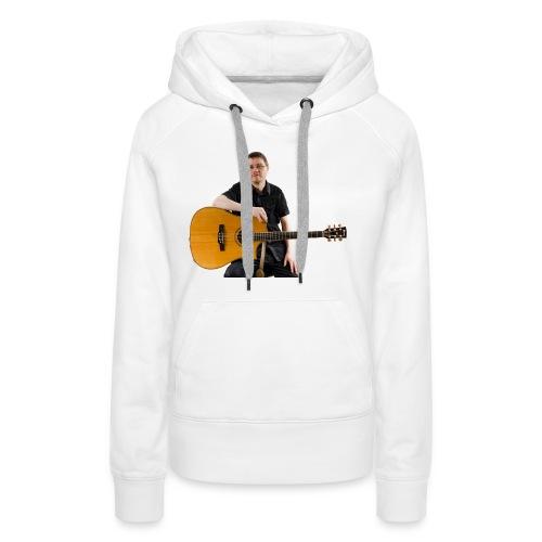 Johan with guitar - Women's Premium Hoodie