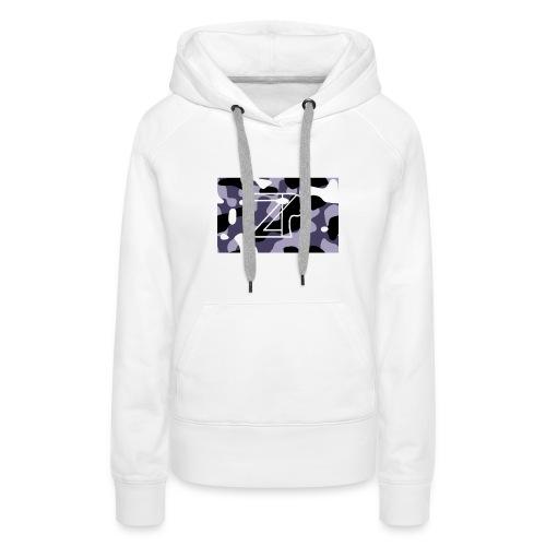 zp logo - Women's Premium Hoodie