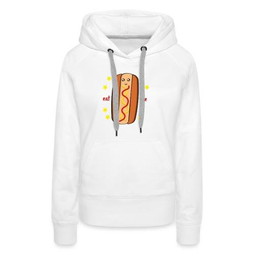 hotdog - Sweat-shirt à capuche Premium pour femmes