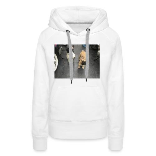 372D9BB6 6536 4E0B 9867 352DD1D58BB7 - Sweat-shirt à capuche Premium pour femmes