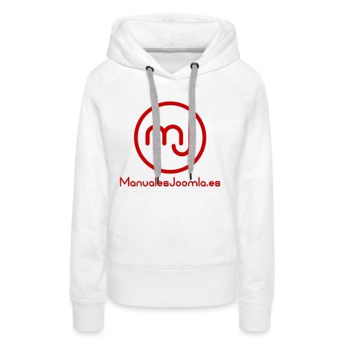 ManualesJoomla.es - Sudadera con capucha premium para mujer