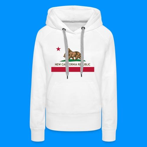 République de Nouvelle Californie - Sweat-shirt à capuche Premium pour femmes
