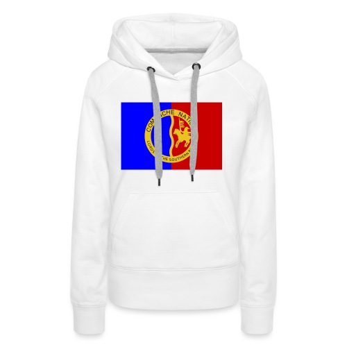 1200px Flag of the Comanche Nation svg - Sweat-shirt à capuche Premium pour femmes