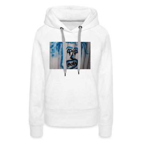 fox 2 - Sweat-shirt à capuche Premium pour femmes
