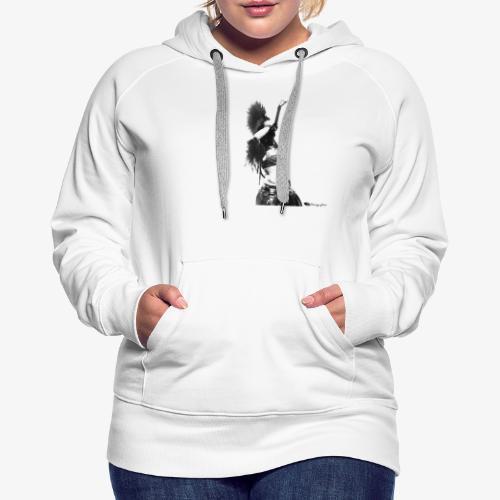 Samaha - Sweat-shirt à capuche Premium pour femmes