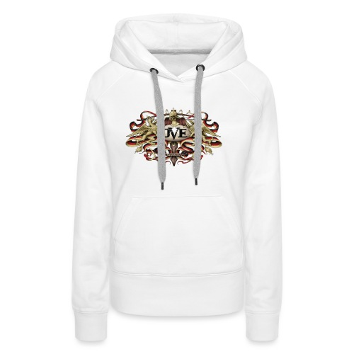 DVE Logo 01 - Das Wappentier - Frauen Premium Hoodie