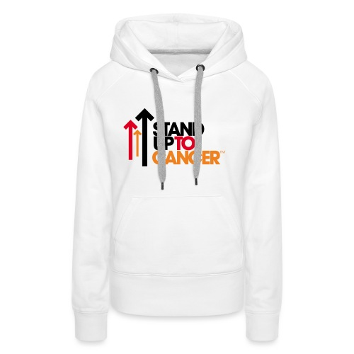 stand up to cancer logo - Women's Premium Hoodie
