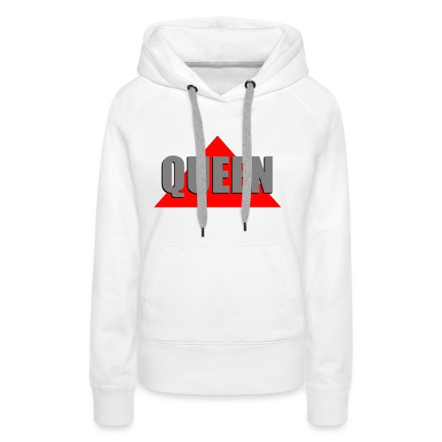 Queen, by SBDesigns - Sweat-shirt à capuche Premium pour femmes