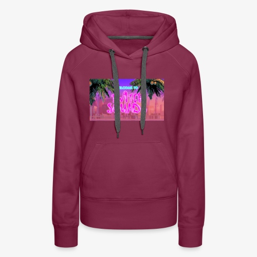 Welcome To Twitch Squads - Women's Premium Hoodie
