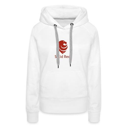 Solid Red - Frauen Premium Hoodie