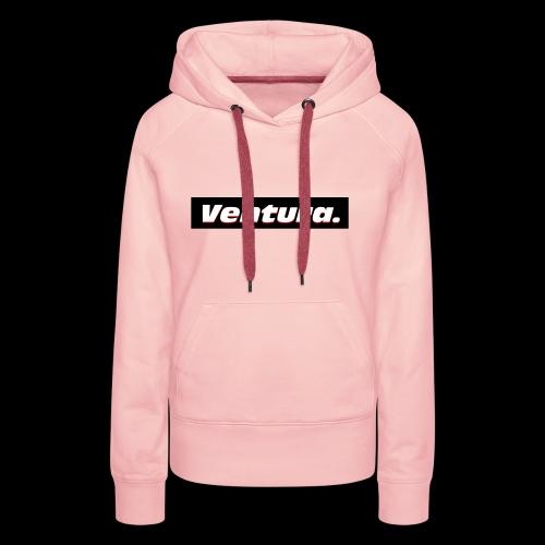 Ventura Black Logo - Vrouwen Premium hoodie
