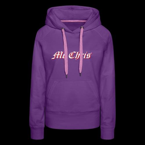 McChrislOGO11 - Frauen Premium Hoodie