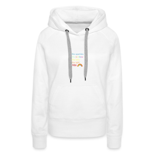 Be the sparkle - Women's Premium Hoodie