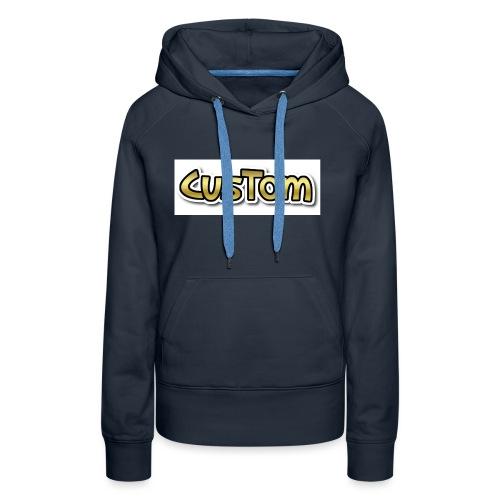 CusTom GOLD LIMETED EDITION - Vrouwen Premium hoodie