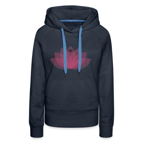 DOE JE DING #LOTUS - Vrouwen Premium hoodie