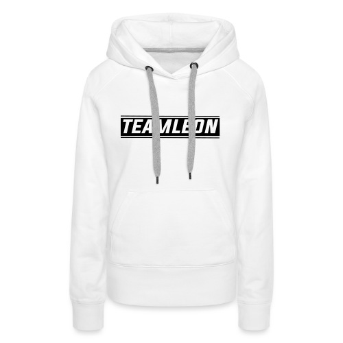 Team Leon Hoodie - White - Women's Premium Hoodie