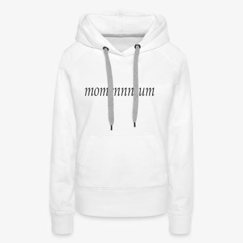 momennntum - Women's Premium Hoodie