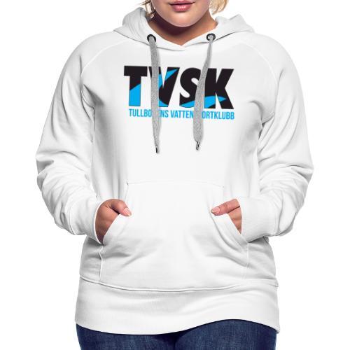 TVSKs färglogo - Premiumluvtröja dam