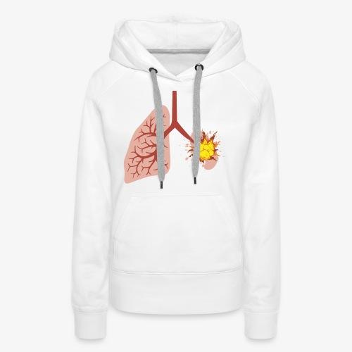 Klaplongstamp - Vrouwen Premium hoodie