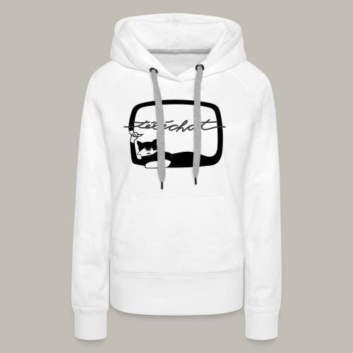 Téléchat - Sweat-shirt à capuche Premium pour femmes