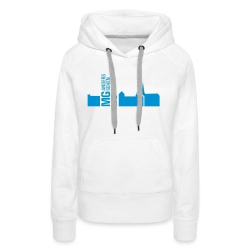 MG anders sehen Logo - Frauen Premium Hoodie