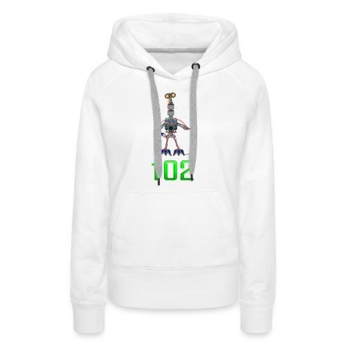 102 - Sweat-shirt à capuche Premium pour femmes