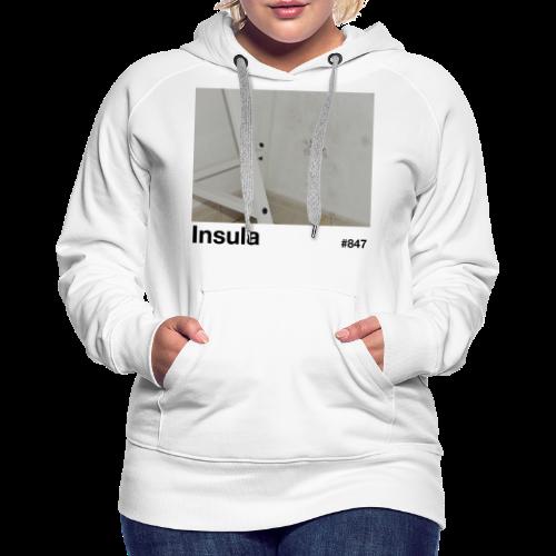 Insula #847 - Sudadera con capucha premium para mujer