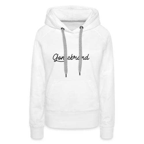 GonesBrand - Sweat-shirt à capuche Premium pour femmes