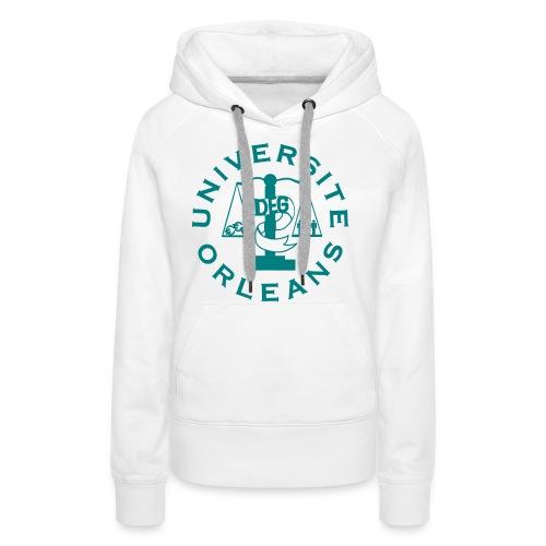 UNIVERSITÉ ORLÉANS DEG - Sweat-shirt à capuche Premium pour femmes