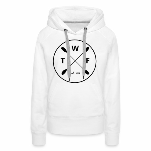 Schwarzes Logo gross - Frauen Premium Hoodie
